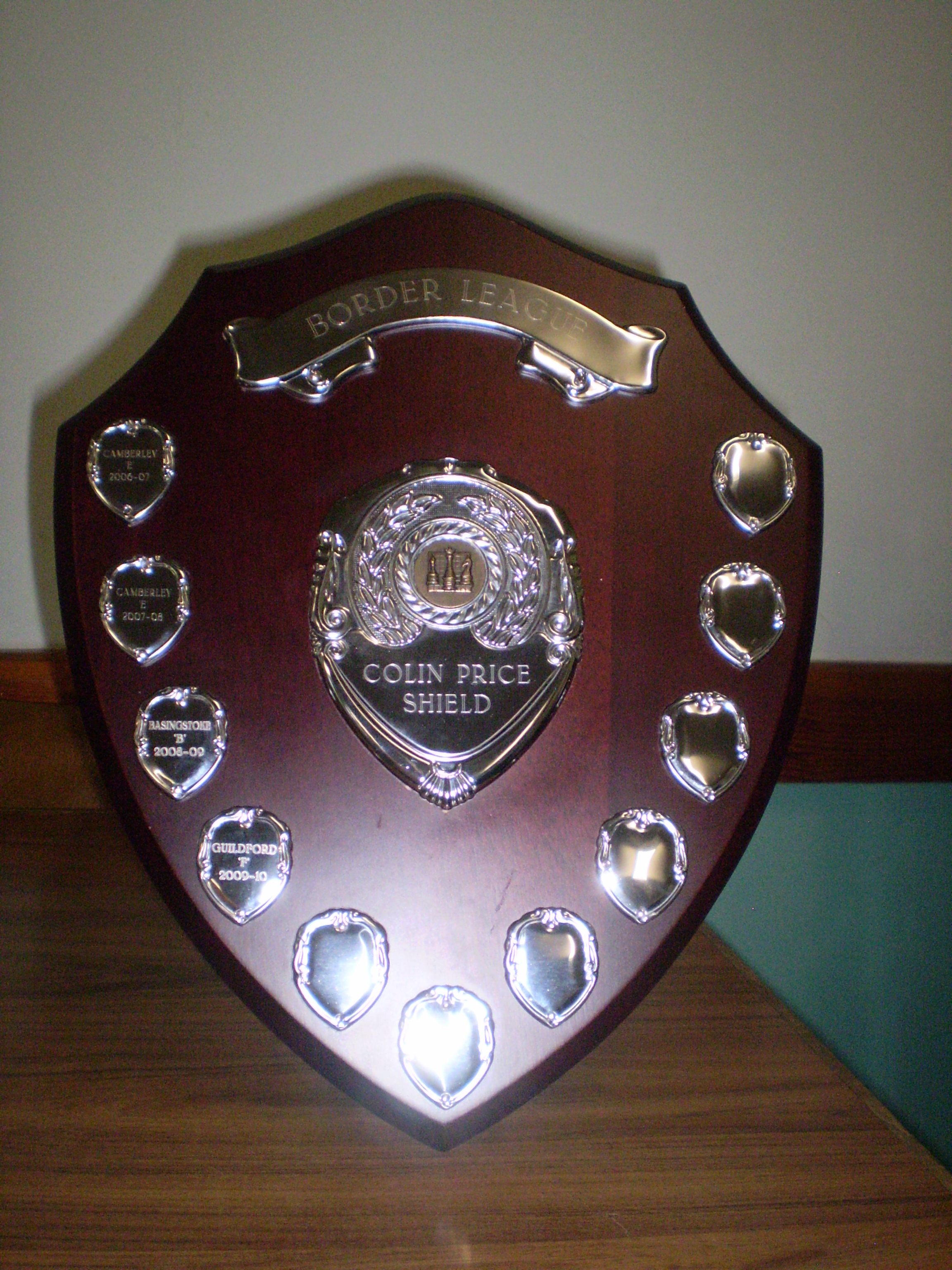 Colin Price Shield
